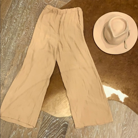 Wilfred camel coloured pants